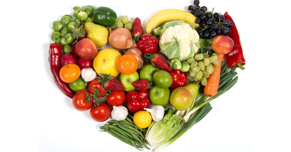 Фрукты и овощи - низкокалорийные продукты питания