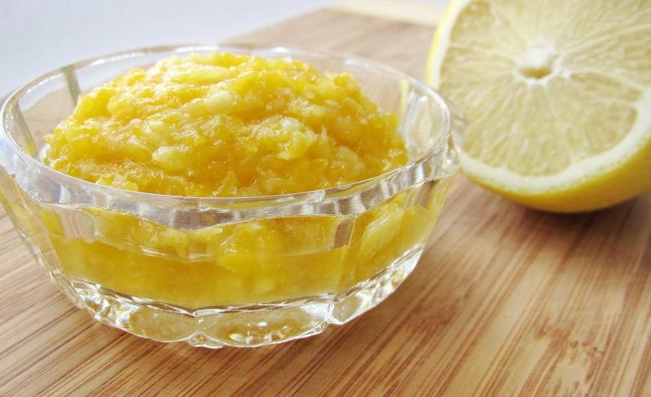 Тыквенное варенье с лимоном и имбирем