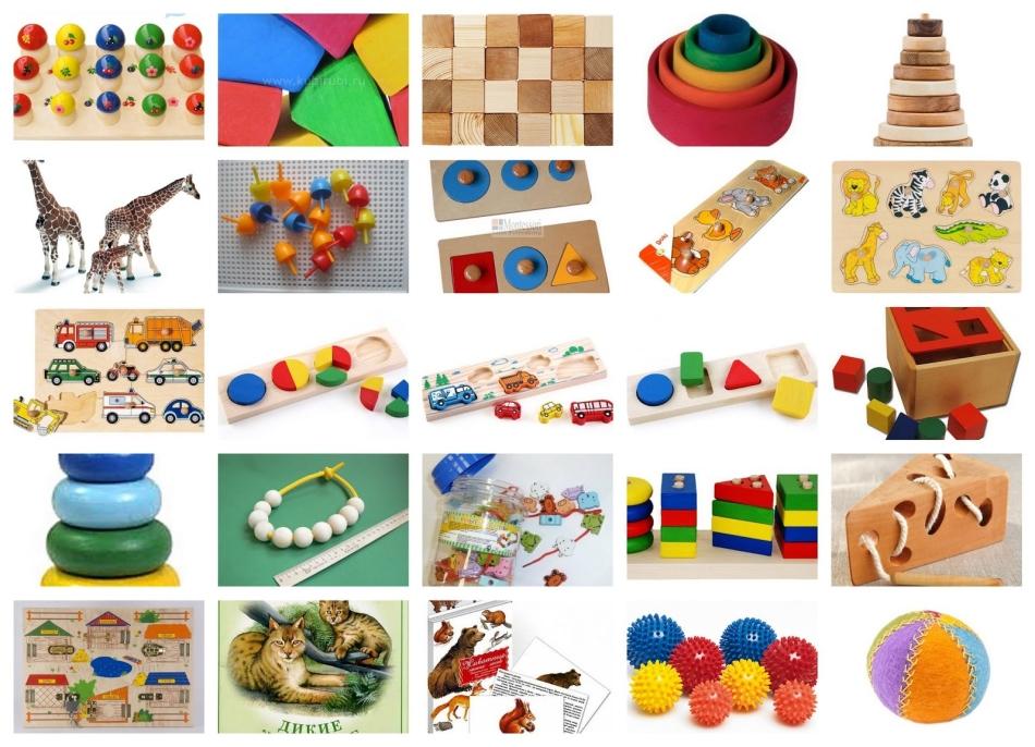 Лучшие игрушки для малыша 3-х лет