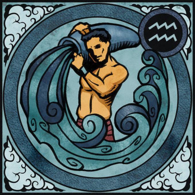 Картинки по гороскопу водолей, днем