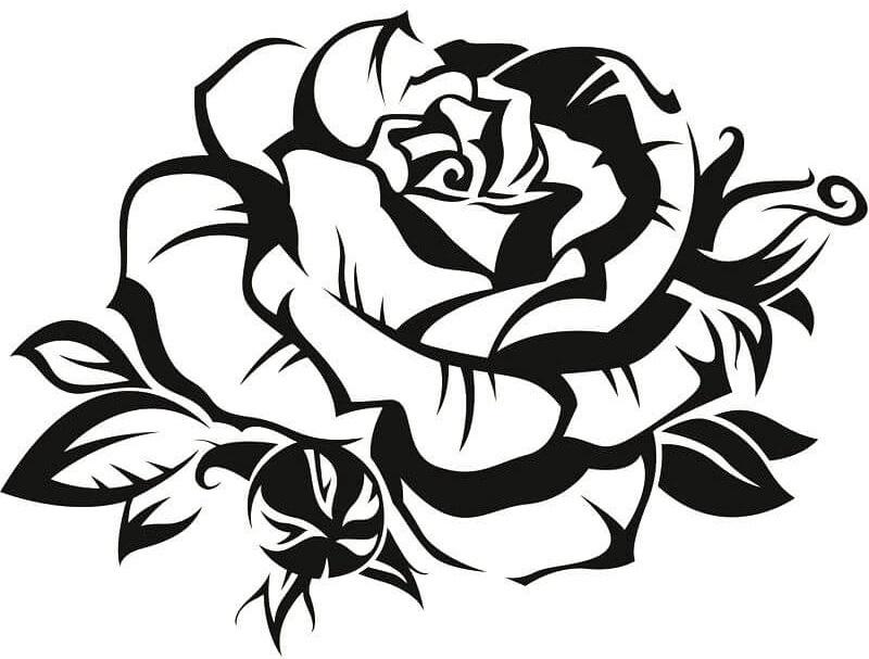 Шаблоны для татуировок для девушек, открытки