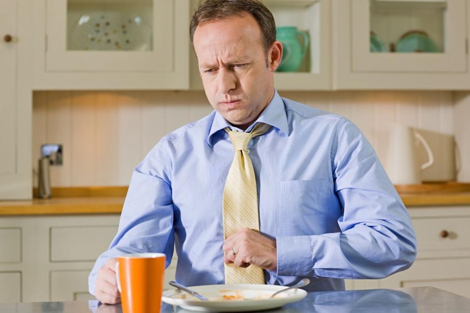 Тяжесть после еды