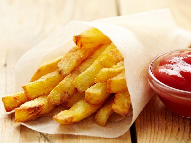 Картофель фри в микроволновке приготовить очень легко