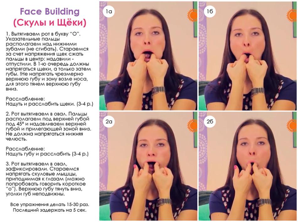Как эффективно похудеть на лицо