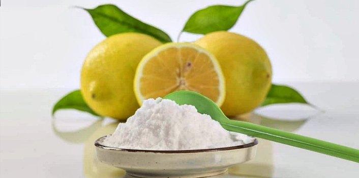 Сода с лимоном от вздутия живота
