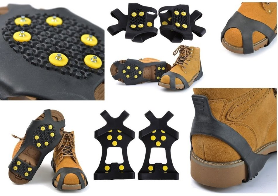 Резиновые накладки для зимней обуви