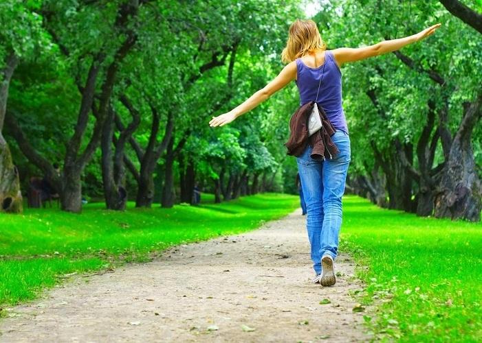 Больше гуляйте на свежем воздухе и ведите здоровый образ жизни