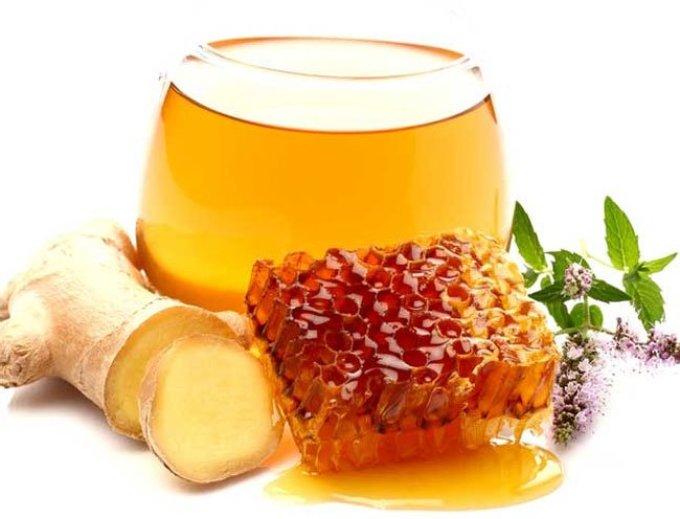 Мед с имбирем
