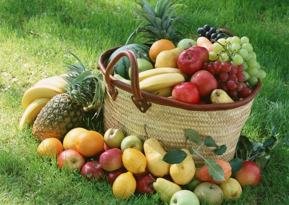 Корзина фруктов для восстановления сил