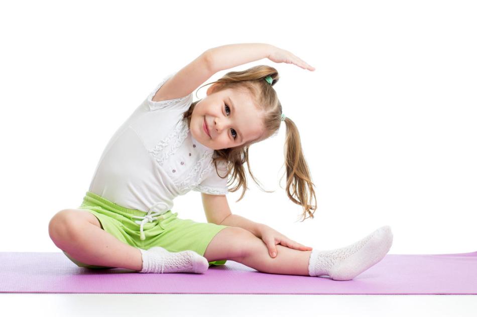 Спортивные занятия положительно влияют на здоровье малыша