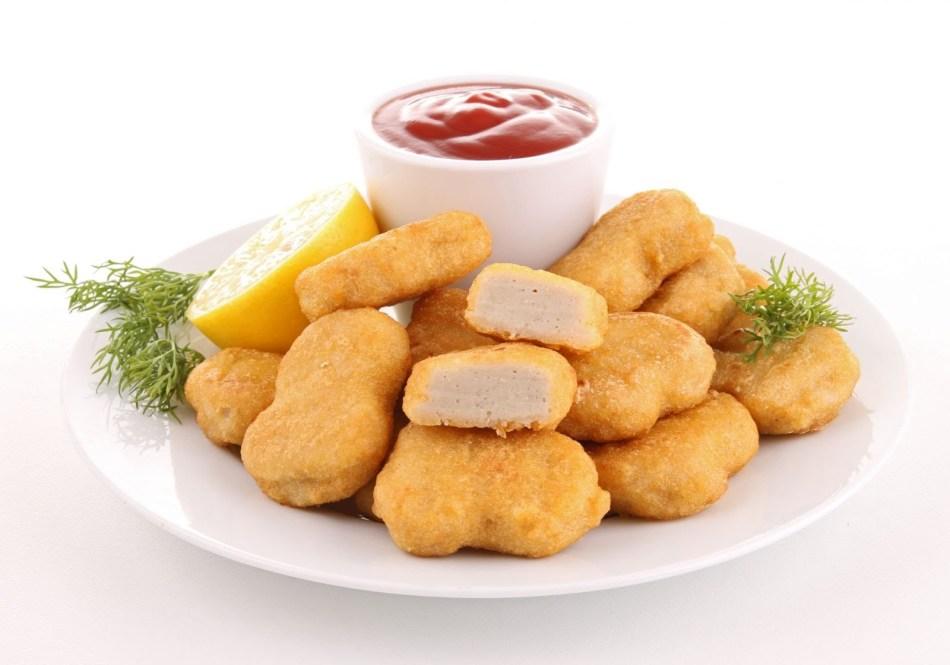 Замечательные куриные наггетсы, как в макдоналдсе у вас получатся на выходе