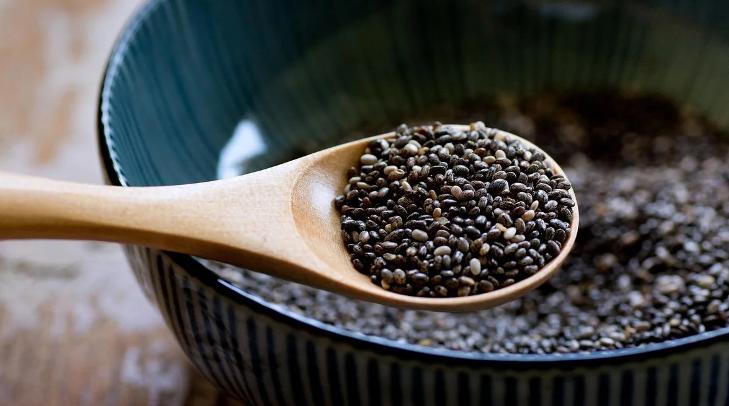 Семена чиа: не более 1-2 ч. ложек в день
