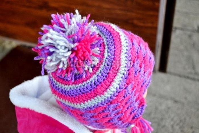80edbc33bdf3871acca3c4f47947a0aa Как быстро связать крючком детскую шапочку с ушками
