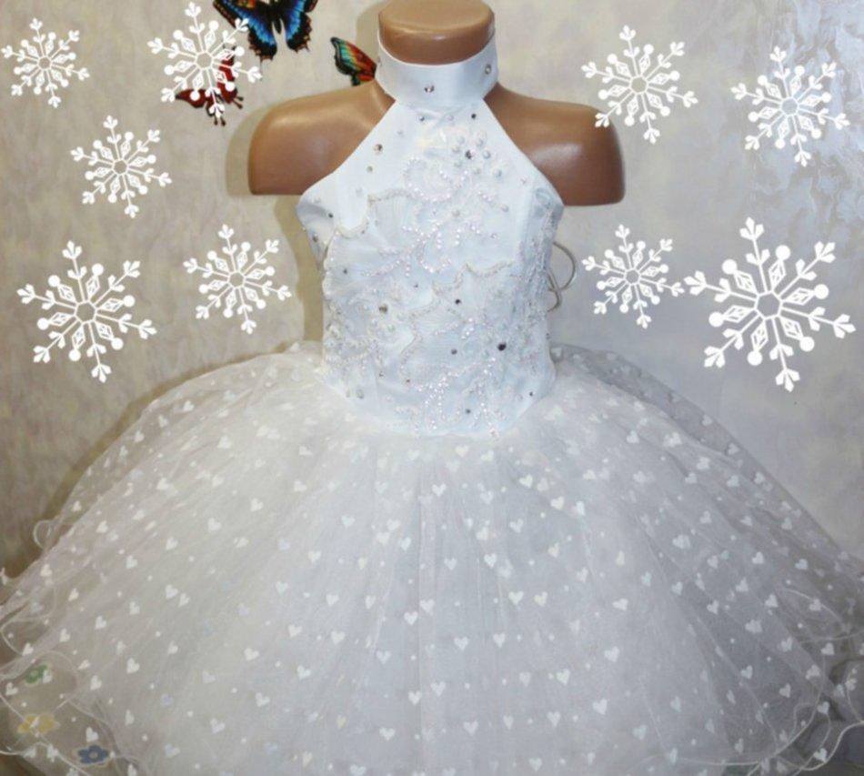 Как сделать платье снежинки на новый год фото 911
