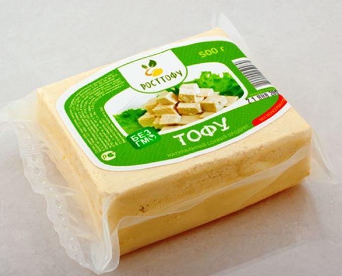 Сыр тофу в упаковке