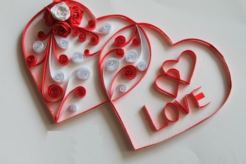 Сердечки на день валентина открытки своими руками, днем рождения поздравления
