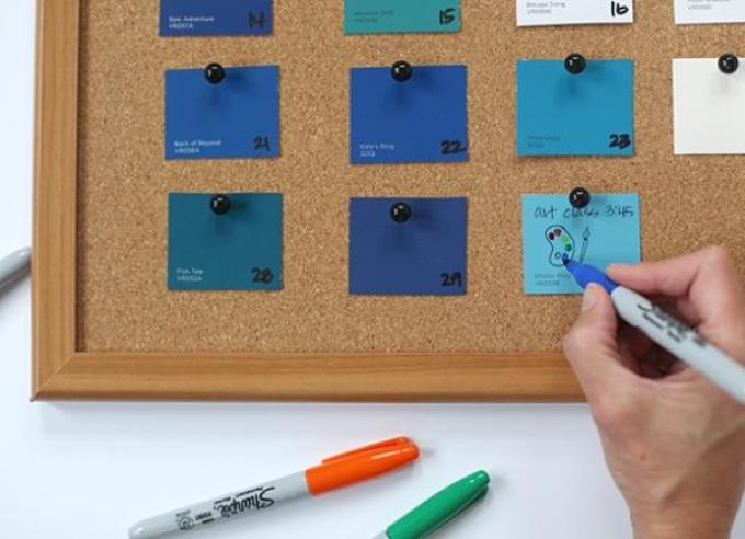 vot-tak-mozhno-pronumerovat-listiki-dni-kalendarya Календарь своими руками - 80 фото, шаблоны и идеи оформления как сделать красивый календарь