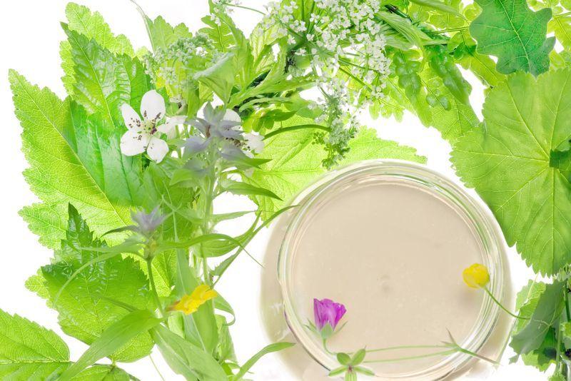 Кремы, в состав которых входят травяные отвары, — лучший выбор для нежной кожи вокруг глаз