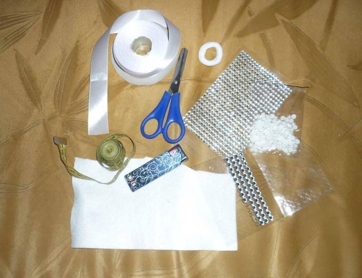 kak-sdelat-bant-svoimi-rukami Как сделать банты из лент для волос своими руками. Мастер классы бантов для школы пошаговая инструкция с фото.
