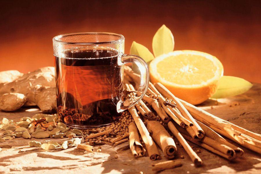Полезный и вкусный безалкогольный глинтвейн с лимоном и корицей