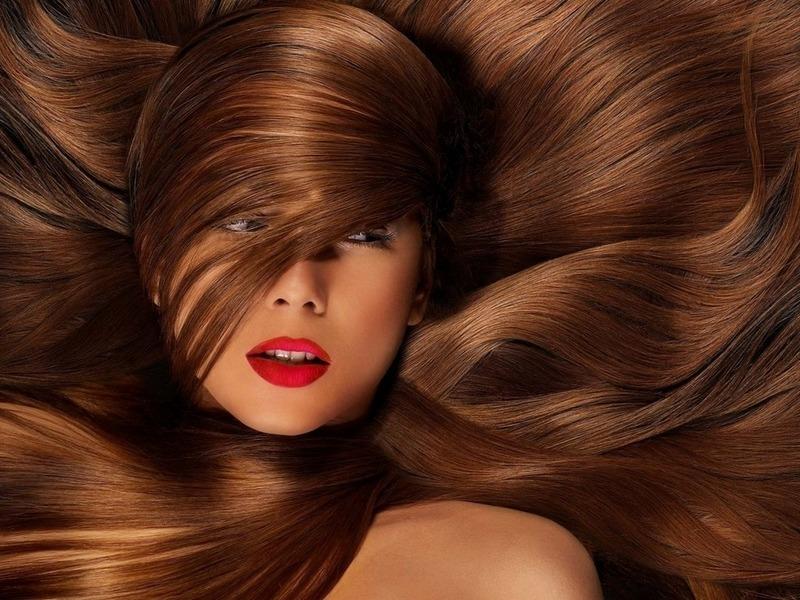 Биотин широко применяется в восстановлении волос
