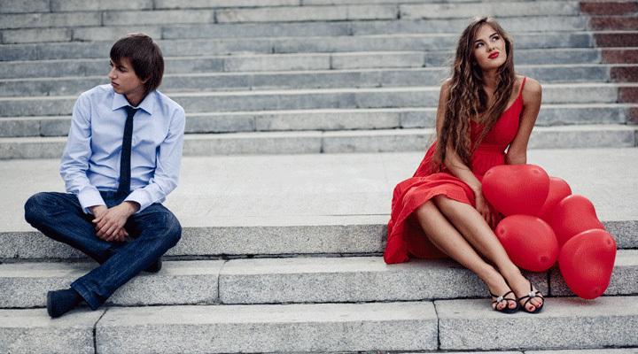 Филофобы бояться иметь близкие отношения с людьми противоположного пола
