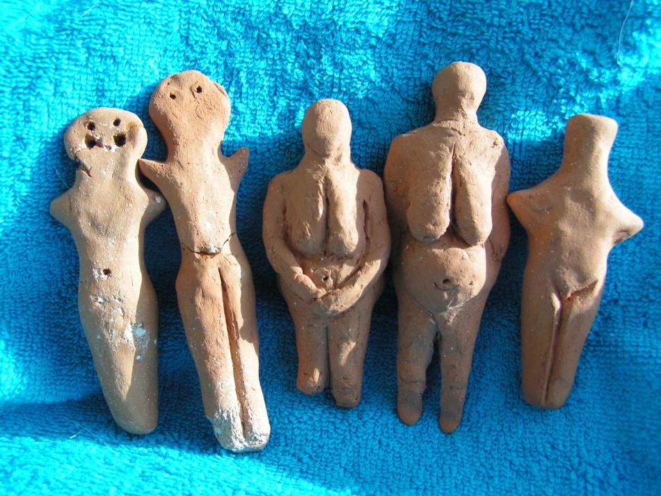 Вот так выглядели трипольские куколки