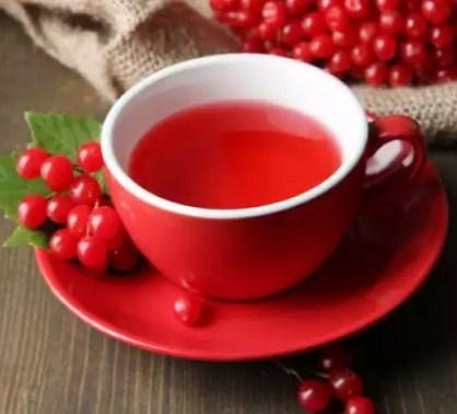 Чай с калиной