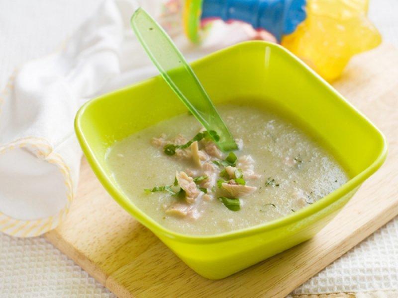Печеночный суп-пюре