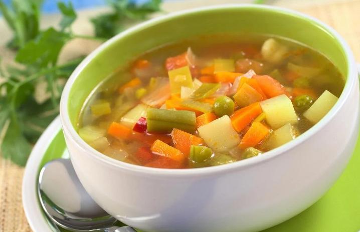 Полезная суповая диета