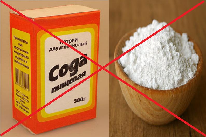 Противопоказания к применению соды