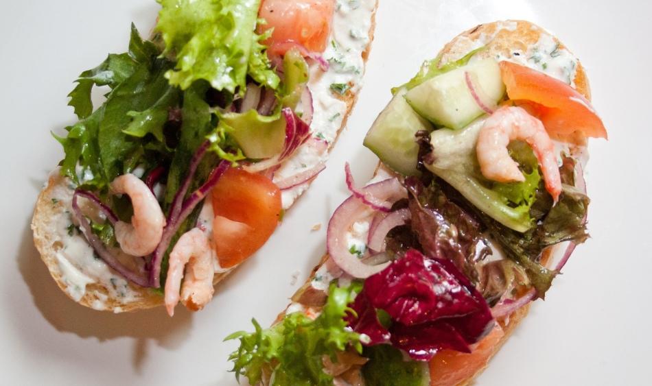 С морепродуктами