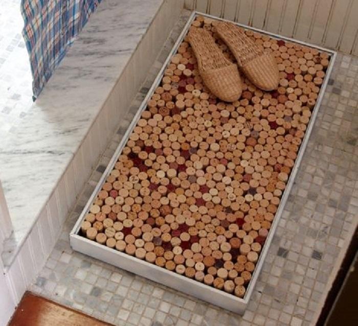 87357e1fa44a4c8615d7544d30a6b0a8 Коврики своими руками - 80 фото идей создания входных и напольных ковров