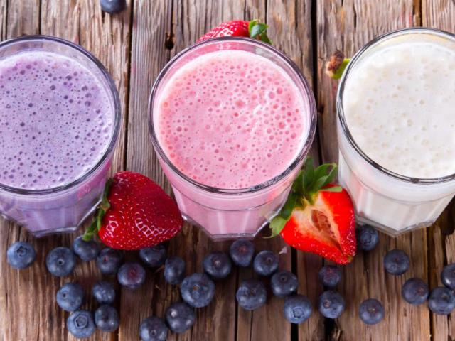 смузи с мороженным и ягодами рецепты