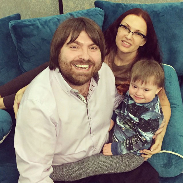 Счастливая семья эвелины бледенс