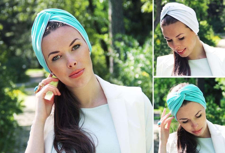 polutyurban Как красиво завязать на голову шарф разными способами? Как красиво и стильно завязать шарф на голове летом, с пальто, мусульманке?