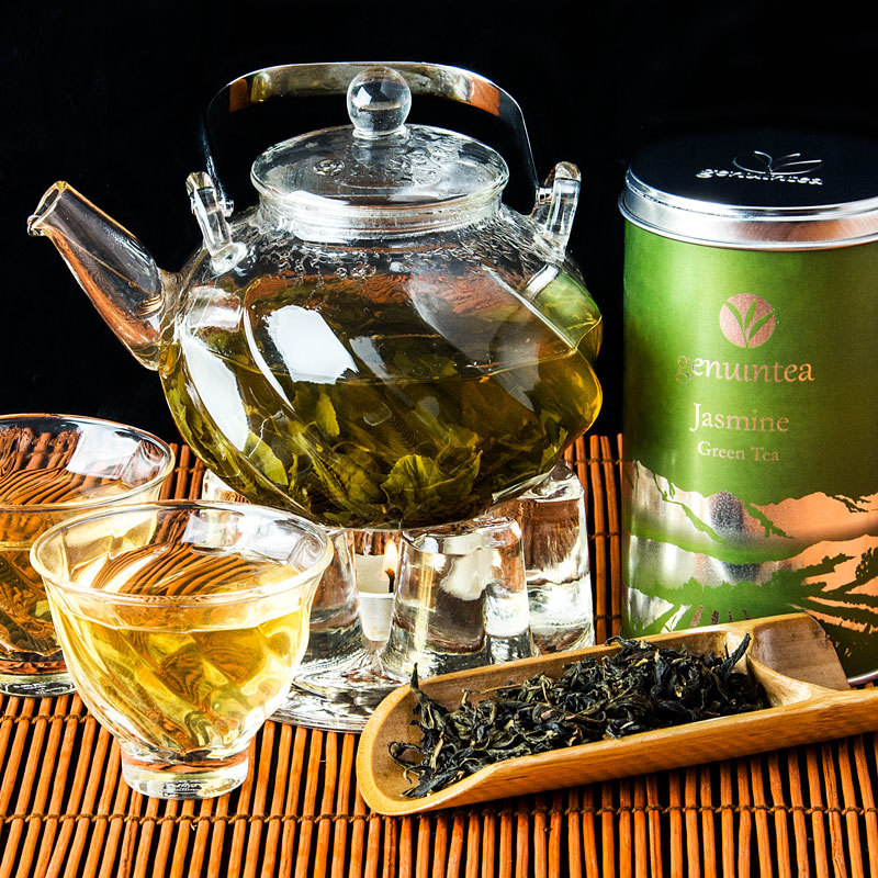 Зеленый чай с жасмином нельзя заваривать слишком горячим