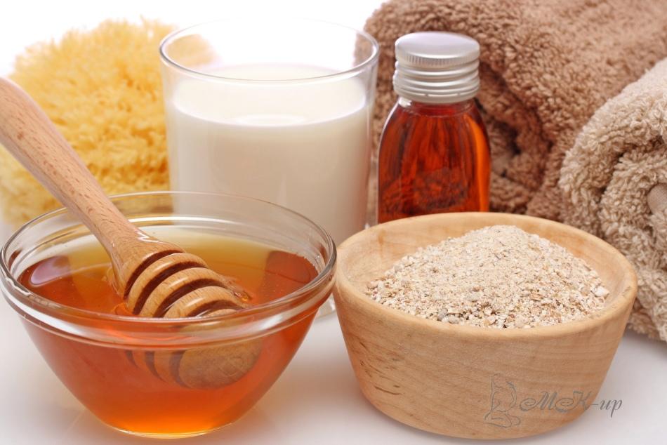 medovii-skrab Скраб для красивого тела в домашних условиях: простые рецепты скрабов для дома