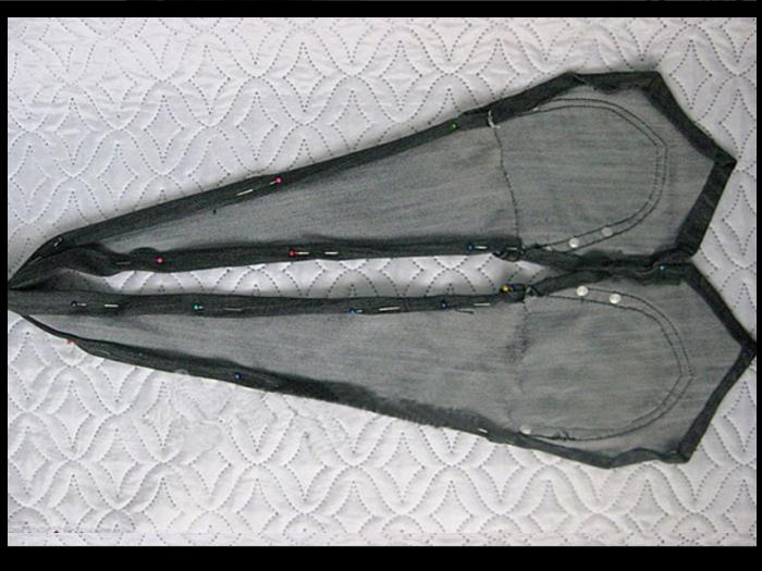 8b3a3caa4c3c570b86830d63e7c7ff27 Сарафан из старых джинсов своими руками: выкройки, как сшить детский сарафан
