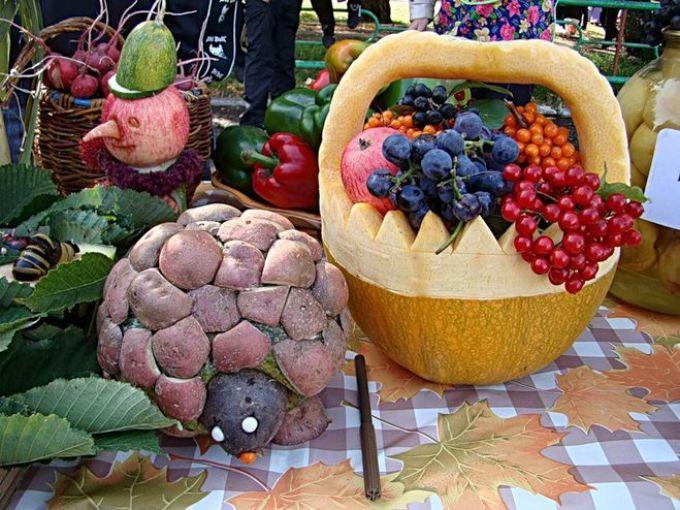rukodelie Осенние поделки из тыквы своими руками: 12 красивых и оригинальных поделок из тыквы для детского сада и школы