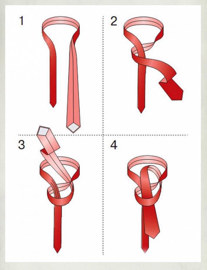 отделки как завязывать галстук пошаговая инструкция фото кого апартаменты