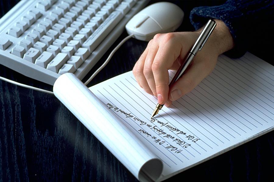 Тест на характер по почерку