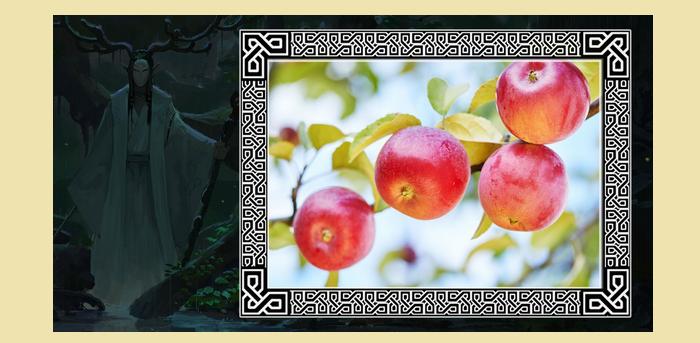 Очаровательная и задумчивая яблоня у козерогов и раков