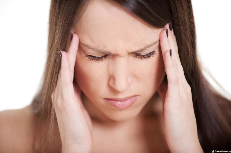 Симтом хронического бруцеллеза - постоянные головные боли