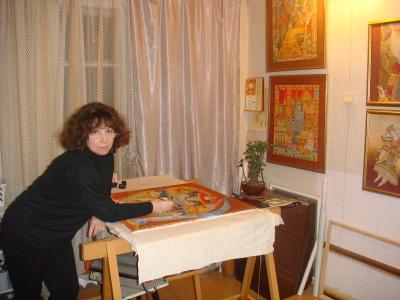 masterica-batika-za-rabotoi Батик: роспись по ткани для начинающих и мастер класс с фото