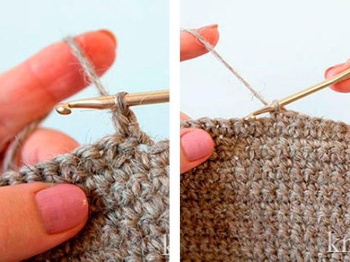 soedinitelnii-stolbik Как связать крючком носки — способы: схемы, описание