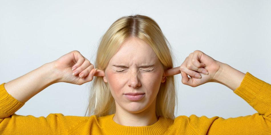 Писк в ушах
