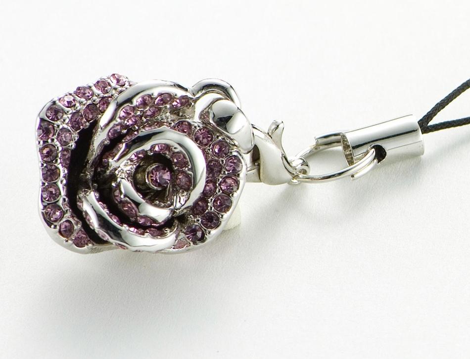 Подарок на 10 лет свадьбы - подвеска в форме розы