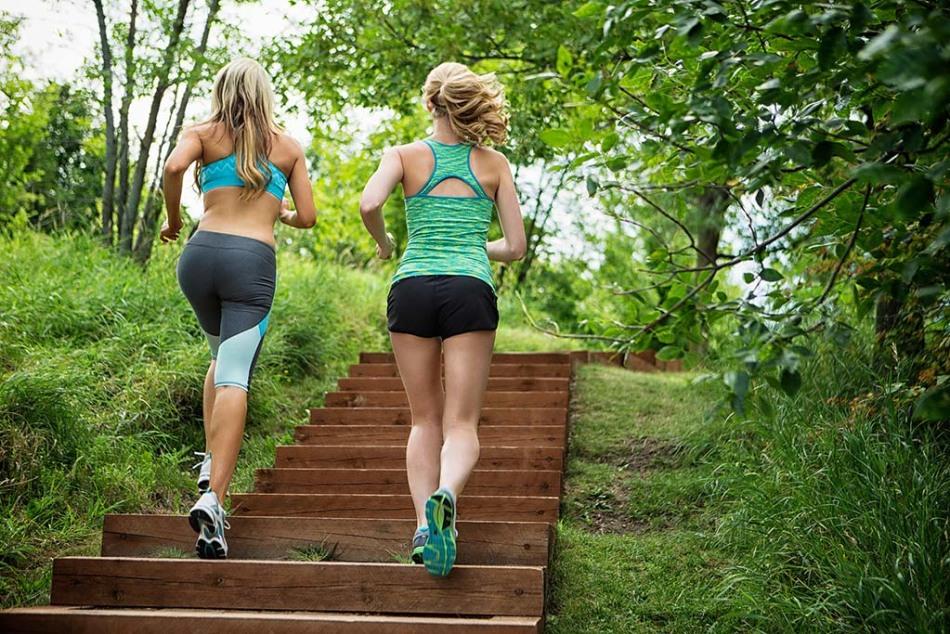 Ходьба по лестнице - просто и эффективно