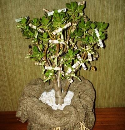 8f45636e6b1c55559d085342def4f99c Денежное дерево своими руками из бисера и монет (видео)